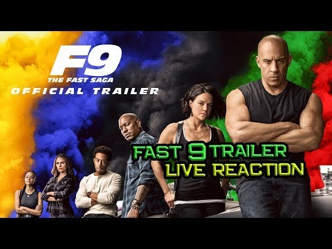 Fast 9 | Fast & Furious 9 Trailer Live Reaction - BCU Live Reaction