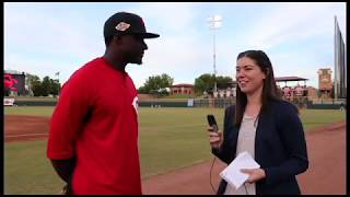 Interview With Cincinnati Reds' Prospect Taylor Trammell - Arizona Fall League
