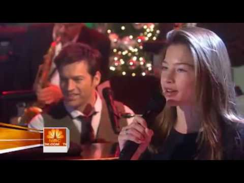 Harry Connick Jr and his daughter  Winter Wonderland