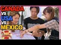 USA vs CANADA vs MEXICO: Where do Japanese girls and boys want to travel to?