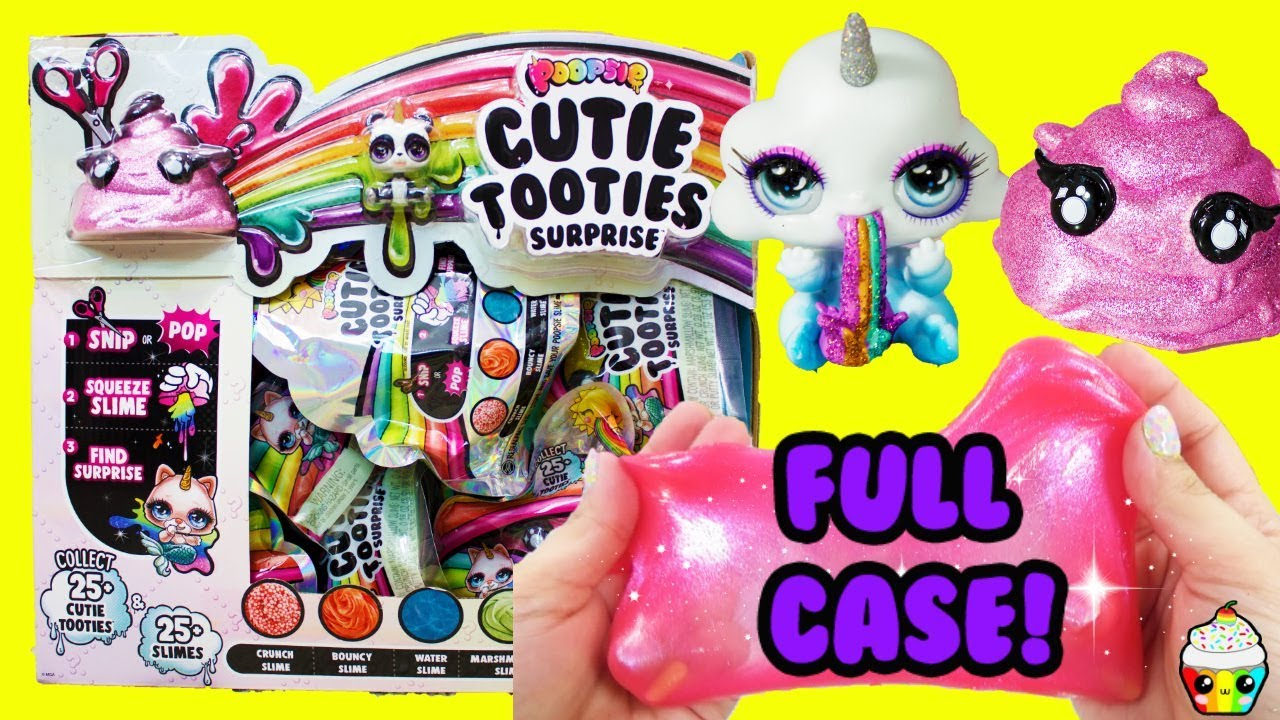 Poopsie Cutie Tooties Full Case Unboxing Tons of Slimes