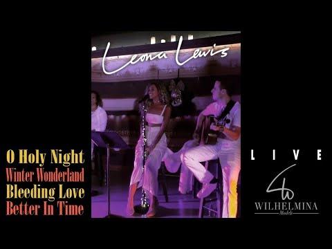 "Leona Lewis - LIVE at Wilhelmina Gig (""O Holy Night"", ""Winter Wonderland"", ""Bleeding Love"" and more)"