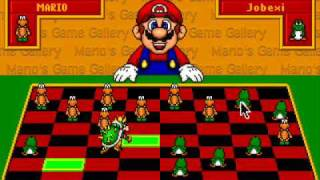 Mario's Game Gallery - 1995 - Checkers
