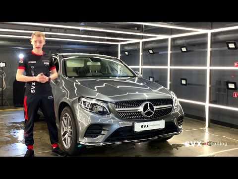 В SVX detailing на химчистке салона - Mercedes GLC Coupe ⚡️