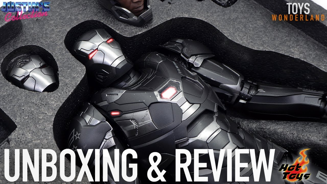Hot Toys War Machine MK6 Avengers Endgame Unboxing & Review