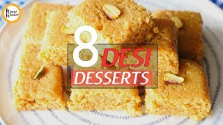 8 Desi Dessert Recipes By Food Fusion