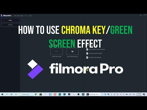 How to Use Chroma Key in FilmoraPro Video Editor