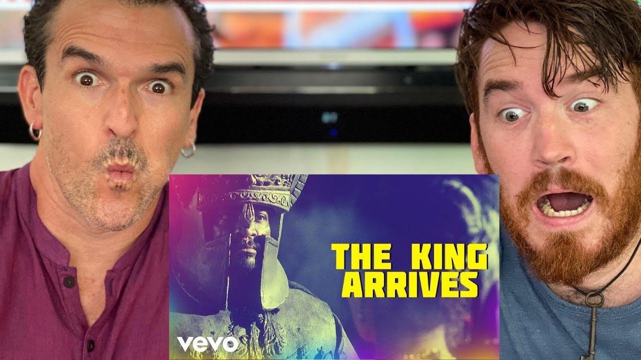The King Arrives - Aayirathil Oruvan | REACTION!!