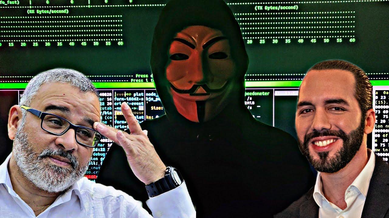 Anonymous El Salvador (parte 2) Exponiendo La Verdad