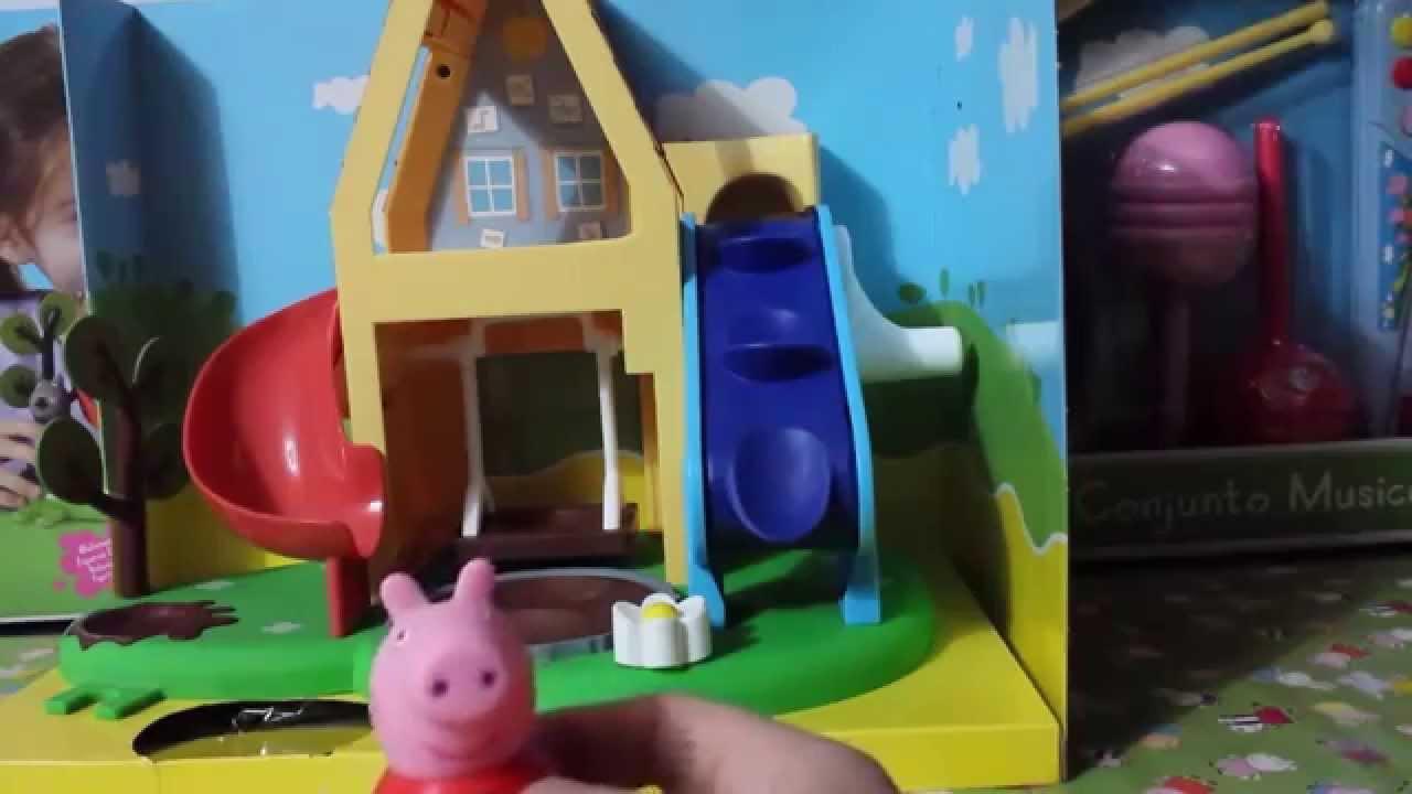 casa de juegos de peppa pig juguete para nios y nias