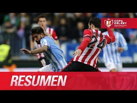 Resumen de Málaga CF (0-0) Athletic Club - YouTube