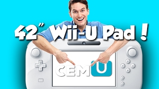 EMU-NATION: Today I made a 42 Inch Wii-U Pad (Used with the Wii-U Emulator!)