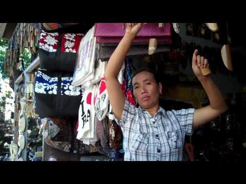 Bartering in Ubud, Bali