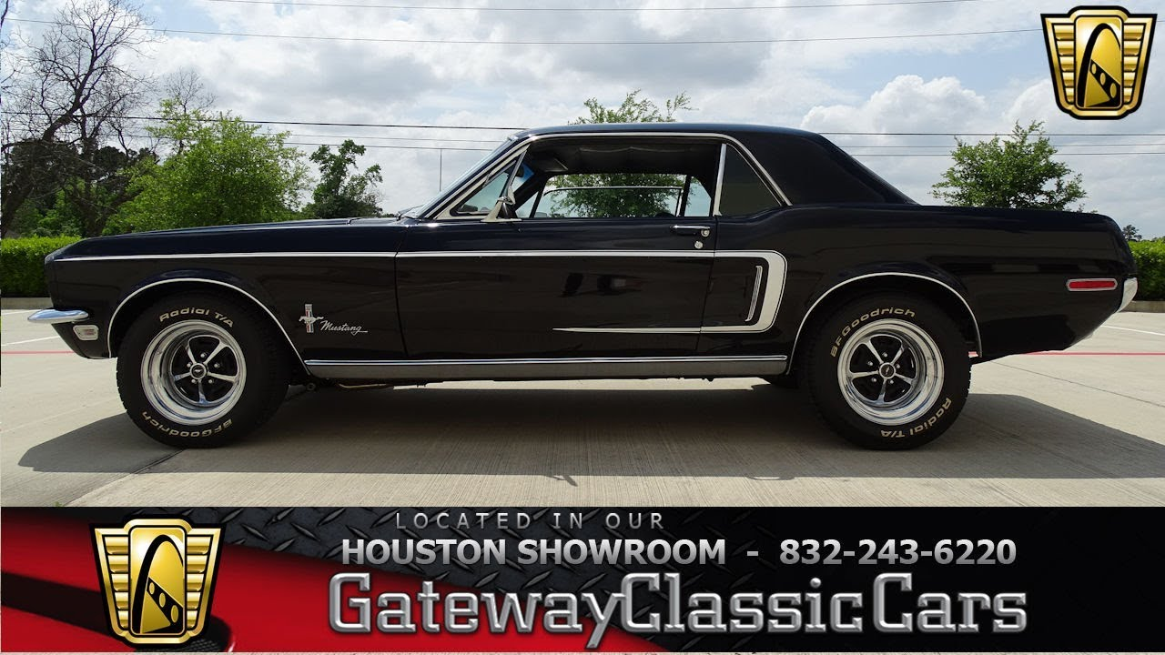 1968 Ford Mustang Gateway Classic Cars #1181 Houston Showroom - YouTube