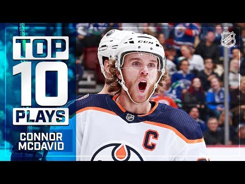 Top 10 Connor McDavid plays from 2018-19