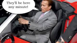 Arnold Tries To Report A Bad Driver