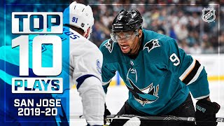 Top 10 Sharks Plays of 2019-20 ... Thus Far | NHL