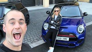 SHE FINALLY GOT A CAR!!