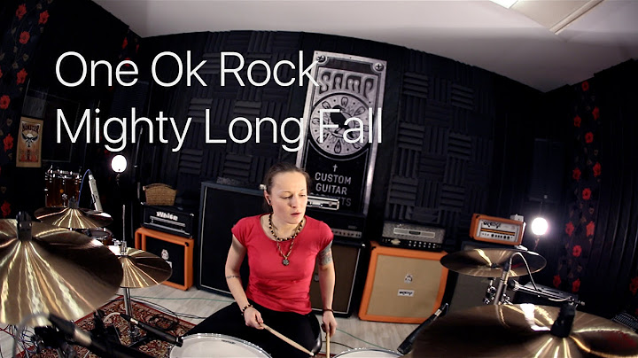 one ok rock  mighty long fall drum cover by vicky fates