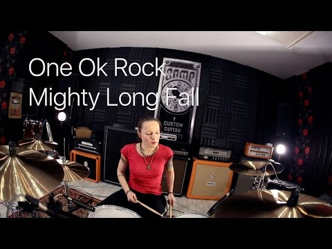 One Ok Rock - Mighty Long Fall (drum cover by Vicky Fates)