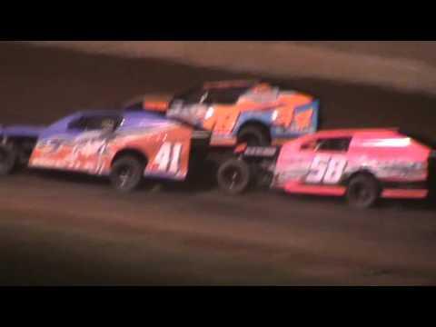 IMCA Mod Feature Shawano Speedway Shawano Wisconsin 4/30/16