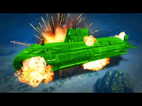 WE DESTROYED THE MASSIVE SUBMARINE! (GTA 5 Heists)