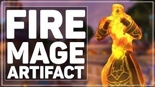 WoW Legion: Fire Mage Artifact - Icecrown Shenanigans!