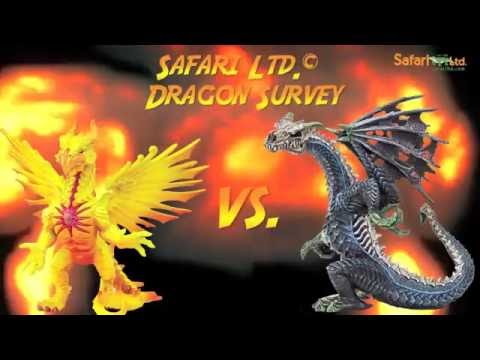Supercon 2016 -  Ghost Dragon vs. Sun Dragon   Safari Ltd.