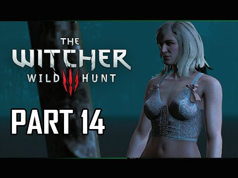 The Witcher 3: Wild Hunt Walkthrough Part 14 - Keira Metz Romance Scene (PC Let's Play Commentary)