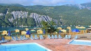 Domaine de Plein air -Camping Odalys Les Berges du Lac au Lauzet
