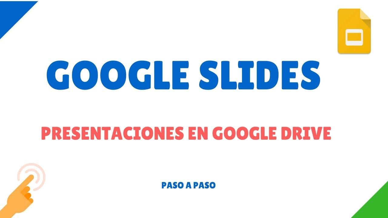 37aa73111e Cómo hacer una presentación en Google Drive con Google Slides