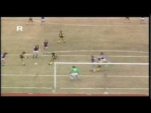 Peñarol 2 - 0  Aston Villa - Copa Intercontinental 1982