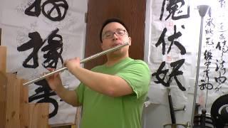 Western Flute Oriental Music - Mystical Enlightnment - Mak Jo Si