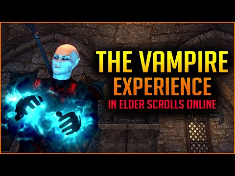 🧛The Ultimate Vampire Experience In The Elder Scrolls Online🧛 - Vampire Nightblade Build ESO