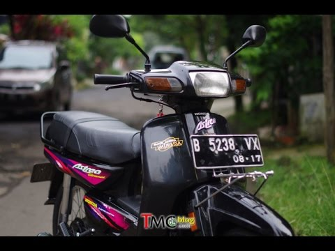 Slide Foto Honda Astrea Grand 97 Hasil Restorasi Youtube
