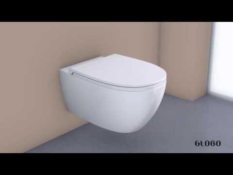Vaso Bidet Completo Di Sedile Diana Azzurra Youtube