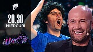 iUmor 2021 | Maradona a venit la iUmor. Fără români, nimeni nunca nu ar fi auzit de metoda Maradona