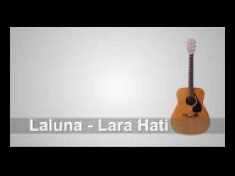 Lirik lagu Laluna -Larahati Chord