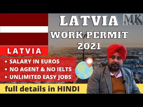 LATVIA Work Permit 2021 | Latest LATVIA WORK VISA 2021 Process, Job & Apply/ LATVIA Jobs for Indians