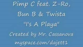 "Pimp C ft Z-ro, Bun B & Twista- ""I"