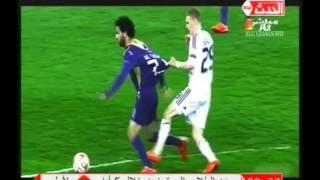 مصطفي يونس في#هنا_القاهرة ( محمد صلاح VS الجزائري رياض محرز) ومن افضل لاعب عربي؟؟