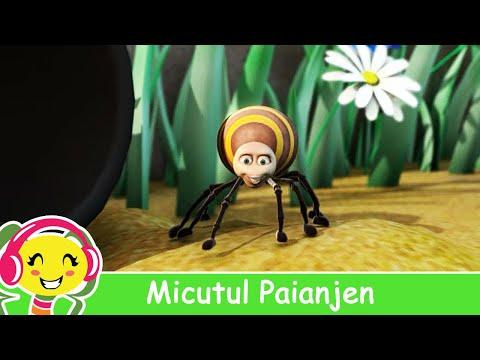 Micutul Paianjen - CanteceGradinita.ro - Itsy Bitsy Spider in Romana