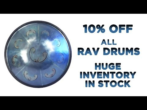 RAV Drums on Sale! (this week only - ends Mon. May 14 )