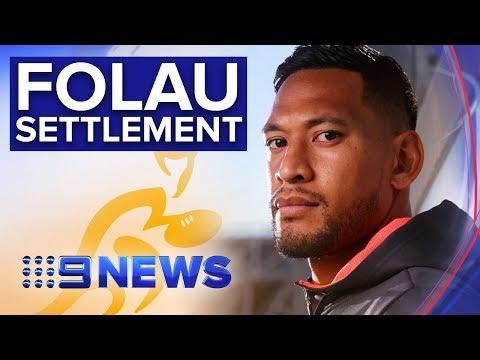 Israel Folau and Rugby Australia in talks at Fair Work Commission | Nine News Australia