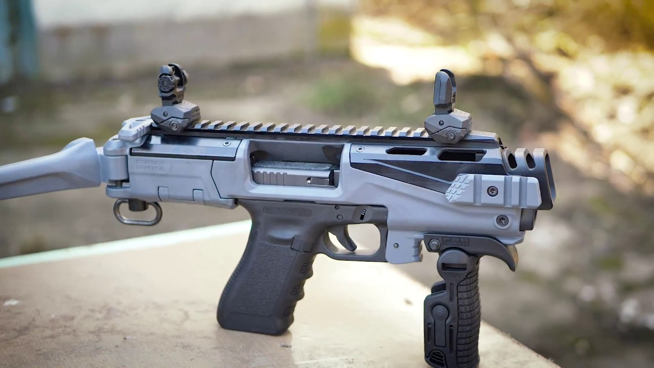 FAB Defense KPOS Scout Conversion Kit for Glock 17/19