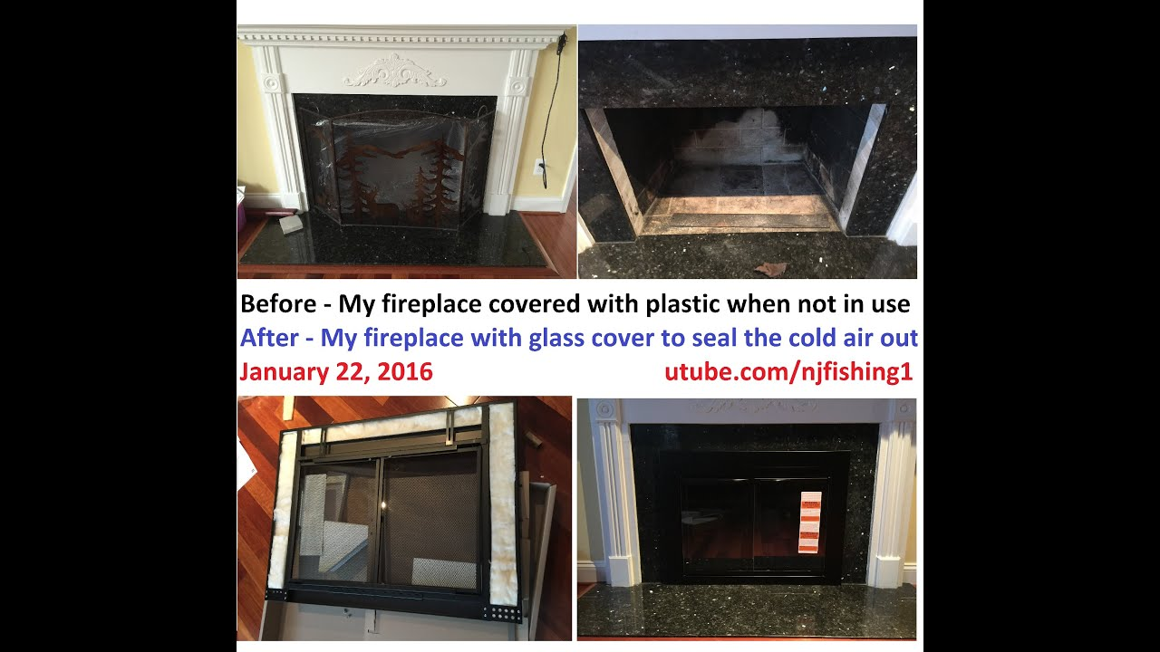 How To Install A Fireplace Gl Door