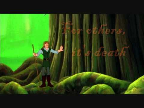 Quest for Camelot ~ I Stand Alone (karaoke in the style of Bryan White)