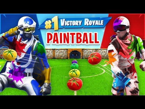 Tomato Paintball *NEW* Custom Gamemode In Fortnite!