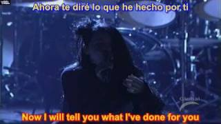 Going Under - Evanescence ( SUBTITULADA EN  ESPAÑOL Y EN INGLES  SUB LYRICS )