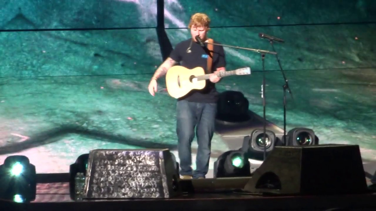 Ed Sheeran - I'm Feeling Good / I See Fire (Divide Tour // KeyBank Center // July 9, 2017)